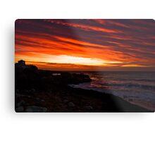 Dawn at Steep Hill Cove Metal Print