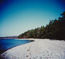 Swedish beach by Mattias Olsson
