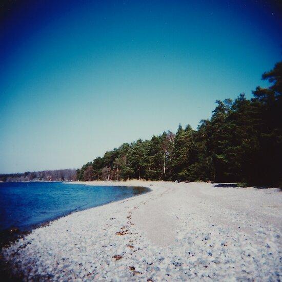 Swedish beach by Mattias Olsson