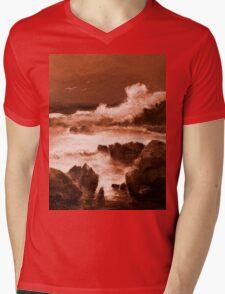 Majestic Ettalong Beach 1.2 Mens V-Neck T-Shirt