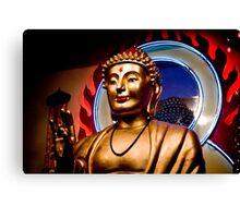 American Buddha Canvas Print