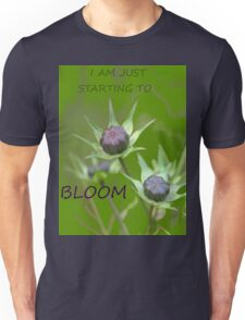 Just starting to bloom Unisex T-Shirt