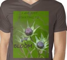 Just starting to bloom Mens V-Neck T-Shirt