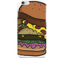 The Ham-chick-za-aco-nut-burger! iPhone Case/Skin