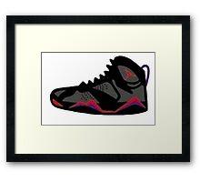 Air Jordan Retro 7 Framed Print