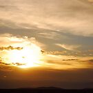 Sunset Over The Serengeti by inglesina