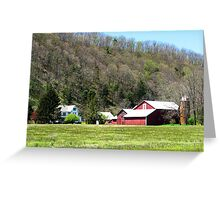 Red Barn, PA Greeting Card