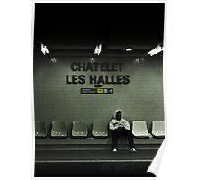 Chatelet Les Halles Poster