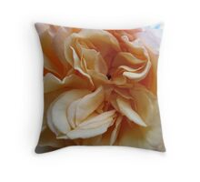 Marmalade Rose Throw Pillow