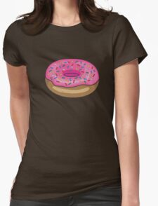 Sprinkle Donut Womens Fitted T-Shirt