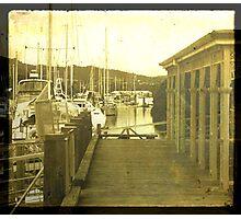 Whangarei Harbour TTV Photographic Print