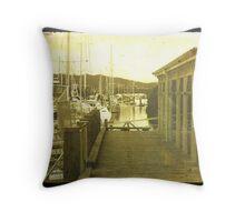 Whangarei Harbour TTV Throw Pillow