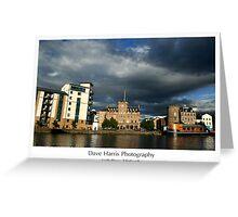 Leith Shore, Edinburgh Greeting Card