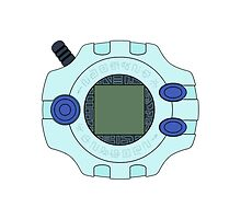 Digimon Digivice by Zanie