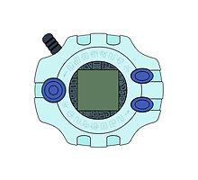 Digimon Digivice by Zanie