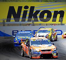 Vodafone V8 Supercar, Surfers Paradise by Darren Greenwell