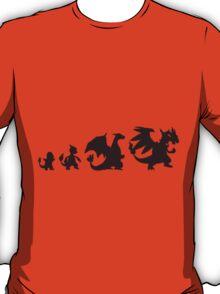 Pokemon Charmander evolution Charizard T-Shirt