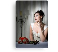 Nicole -Wedding Dress 03 Canvas Print