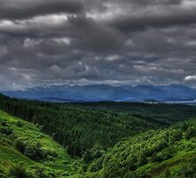 Clouds over Loch Lomond by GerryMac