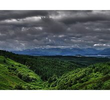 Clouds over Loch Lomond Photographic Print
