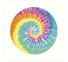 Tie Dye Pattern Art Print