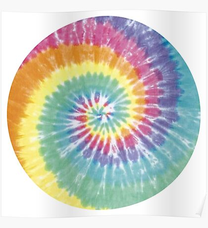 Tie Dye Pattern Poster