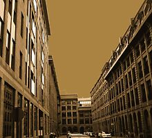 Narrow street (architecture series)!... by sendao