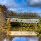 Fall Covered Bridge by JBoyer