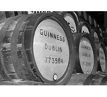 Guinness barrels Photographic Print