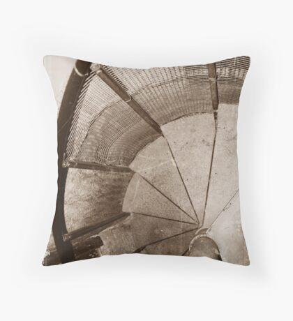 Spiral Vertigo Throw Pillow