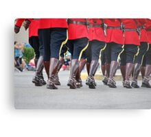 Canada Day Parade - Leduc RCMP Metal Print