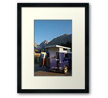 Campervan in Austria Framed Print