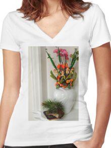 Munchkin Land Women's Fitted V-Neck T-Shirt