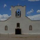 Socorro Mission by Susan Russell