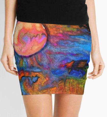 A moment of conception Mini Skirt