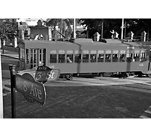 Old Ybor City trolley Photographic Print
