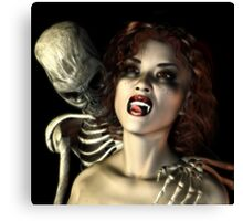 Vampire 3 Canvas Print