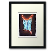 Glowing Chamisole Framed Print