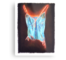 Glowing Chamisole Metal Print