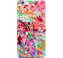 PINK ink ART,  LAYER upon layer hand DRAWN digi iPhone Case/Skin
