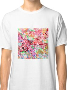 PINK ink ART,  LAYER upon layer hand DRAWN digi Classic T-Shirt
