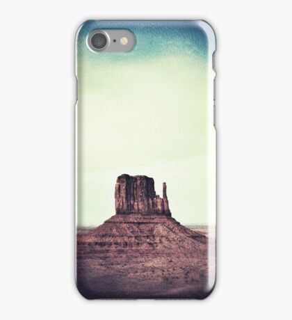 Monument Valley, Mesa Rock iPhone Case/Skin