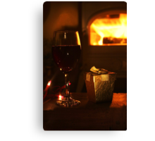 Warmth and Wine Canvas Print
