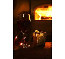 Warmth and Wine Photographic Print