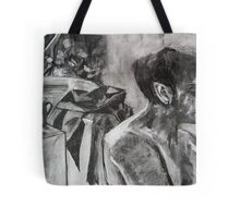 Drawing Marathon Tote Bag