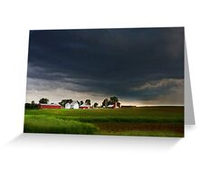 Storm Path Greeting Card