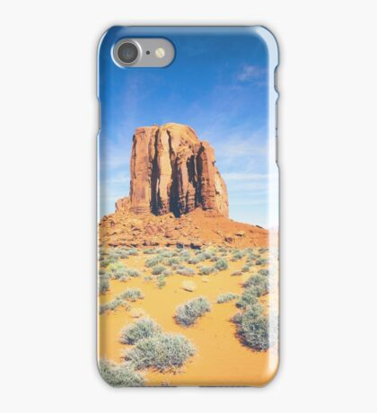 Monument Valley in Summer iPhone Case/Skin