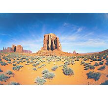 Monument Valley in Summer Photographic Print