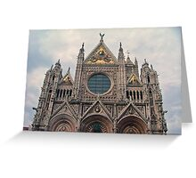 The Cathedral of Siena (Italian: Duomo di Siena)· Sienna, Italy Greeting Card