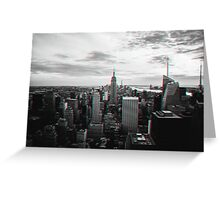 New York City in 3D Greeting Card